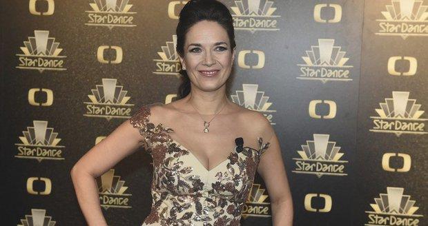 Tereza Kostková před finálovým večerem StarDance
