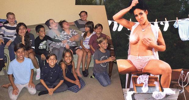 Hanbatá oktomáma: Řekla jsem svým 14 dětem o mé pornominulosti
