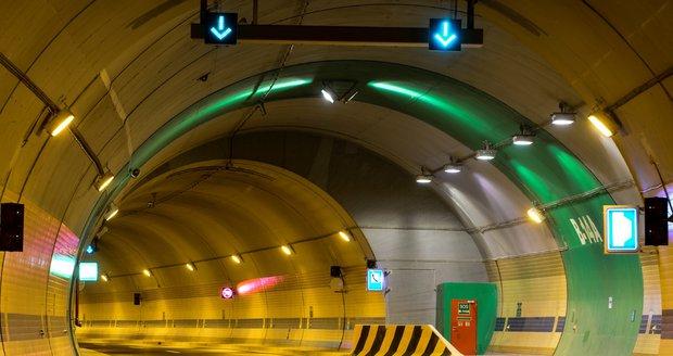 Tunel Blanka. Ilustrační foto.