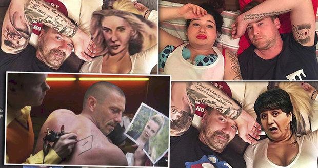 Parodie na tetování Tomáše Řepky