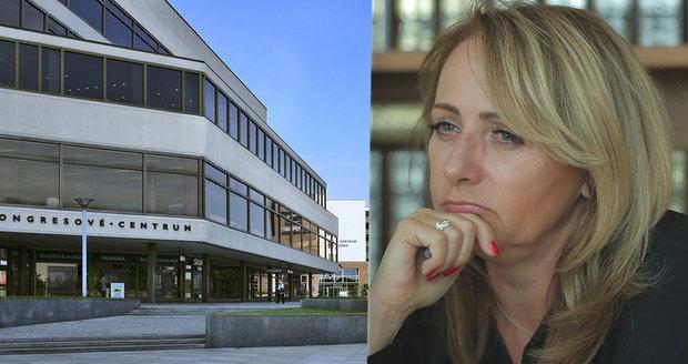 Adriana Krnáčová končí v dozorčí radě Kongresového centra v Praze.