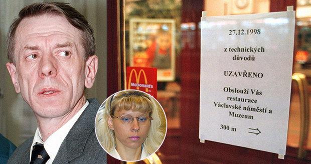 Nájemná vražda v pražském McDonaldu: Podnikatele Zimmermanna nechala zabít jeho žena Martina