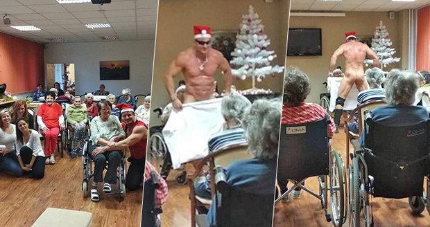 Striptér v domově důchodců šokoval Česko! 92letá babička si chtěla sáhnout, sex řeší všichni, řekl Blesku