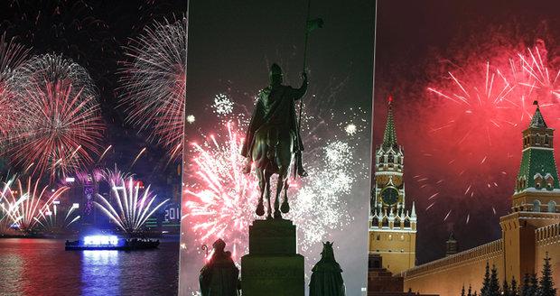 ONLINE: Nový rok oslavilo Česko i svět. Do davu na rušné třídě najela dodávka