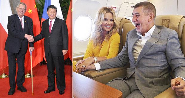 """Zeman míří znovu do Číny, Babiš do """"země milionáře z chatrče"""". Za exotikou vyrazí i Kubera"""