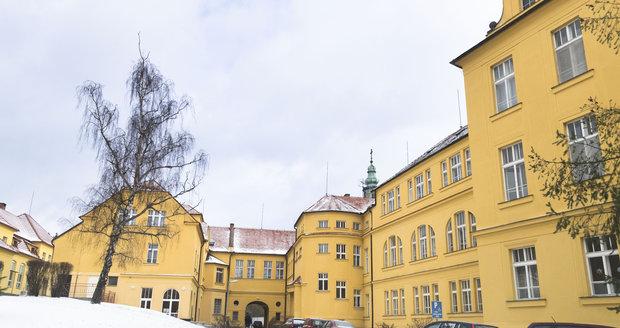 Nemocnice Na Pleši leží uprostřed brdských lesů.