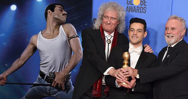 Zlaté Glóby ovládli Queen: Bohemian Rhapsody vyhrála nejlepší film i herce