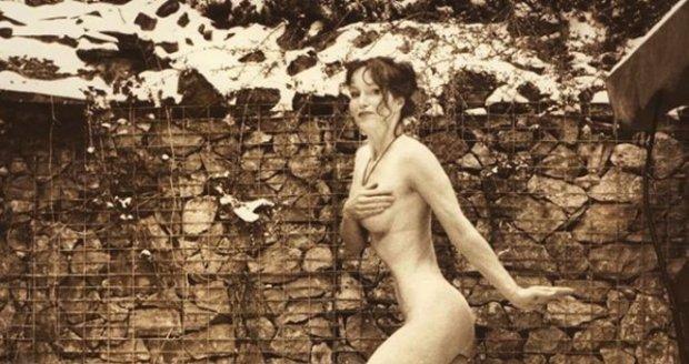Voľný nahé model fotografie