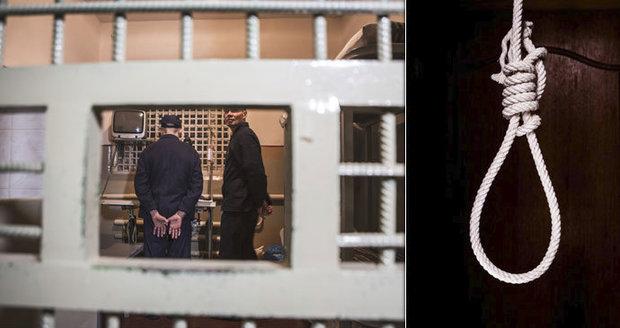 Za loupežné přepadení rozsudek smrti? Recidivista se ve vazbě oběsil