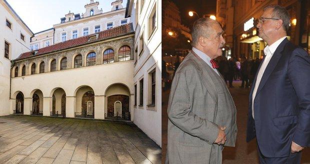 Kalouska i knížete vyhánějí z paláce. TOP 09 si musí hledat nové sídlo