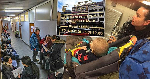 """Češi zaplavili úřad práce a chtějí dávky: """"Naklusaly"""" krizové týmy úředníků"""
