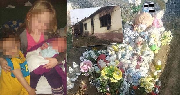 Smrt tří andílků (†1, †4 a †9): Přímotop jsme měli kvůli sousedům, tvrdí babička uhořelých dětí