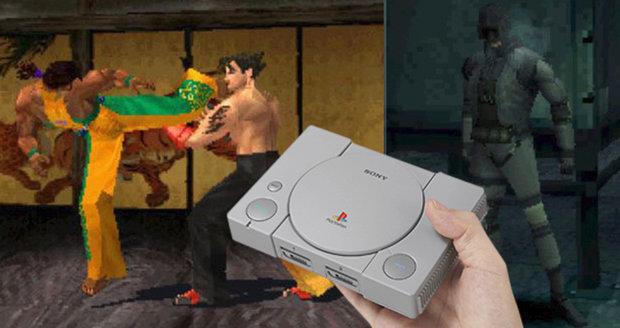PlayStation Classic je zmenšenou verzí klasické konzole, v níž najdete 20 videoher.