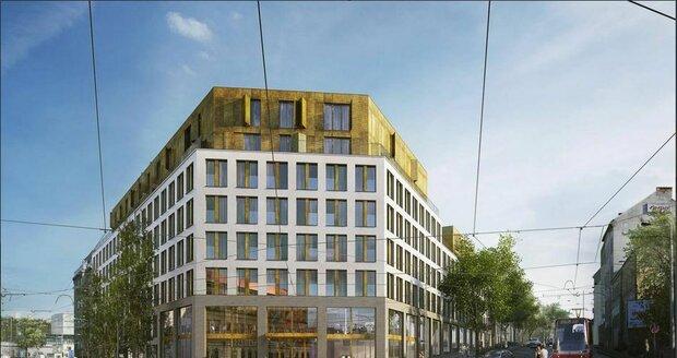 V Holešovicích vznikne největší projekt studentského bydlení. Nabídne 529 apartmánů, kuchyně i kinosály.