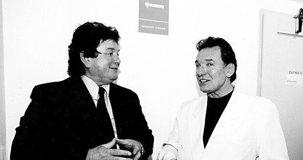 2002 - Zpěvák Pavel Novák st. s Karlem Gottem