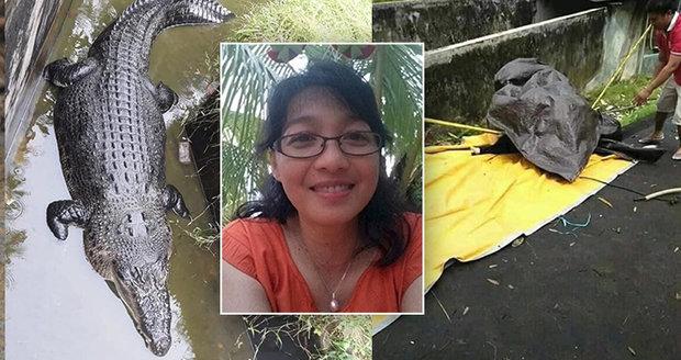 Vědkyni sežral šéfův mazlíček. Po krmení krokodýla našli už jen půlku těla