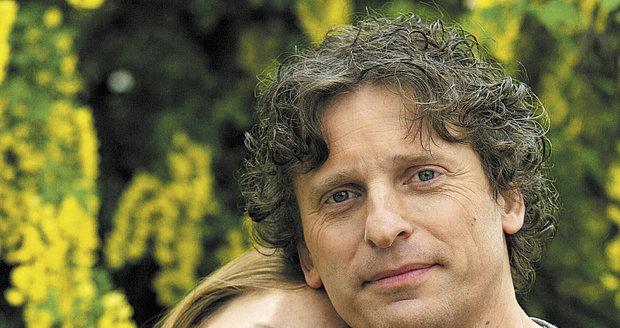 David Prachař se svou manželkou Lindou Rybovou
