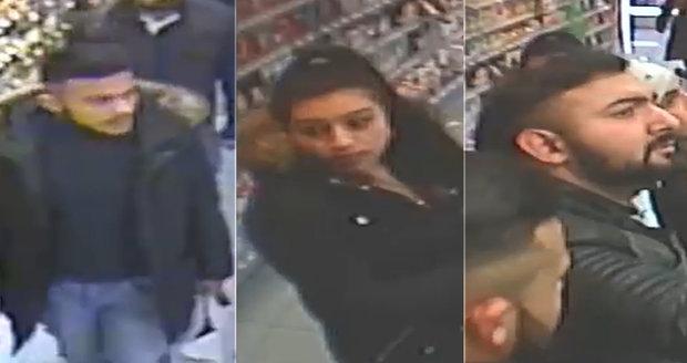 76f6f3902 Policie pátrá po čtyřech osobách, které jsou podezřelé z krádeže parfémů.