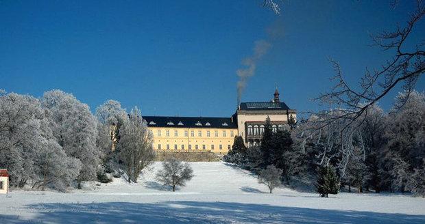 Zimní pohádka na zámku Zbiroh.
