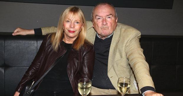 Vladimír Poštulka s manželkou.