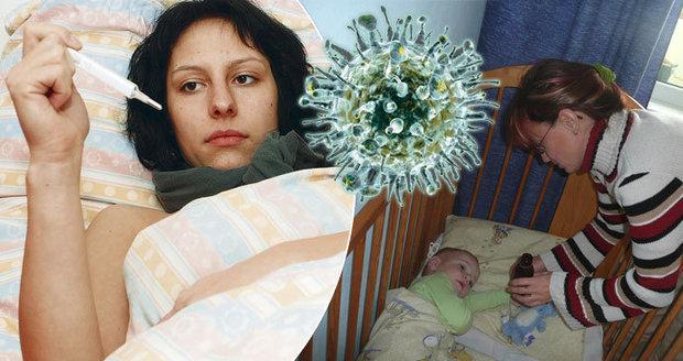V Česku nastupuje epidemie akutních respiračních onemocnění včetně chřipky.