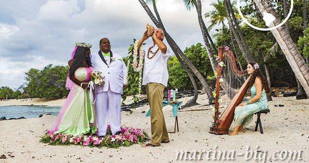 Svatba Martiny a Michaela proběhla na Havaji