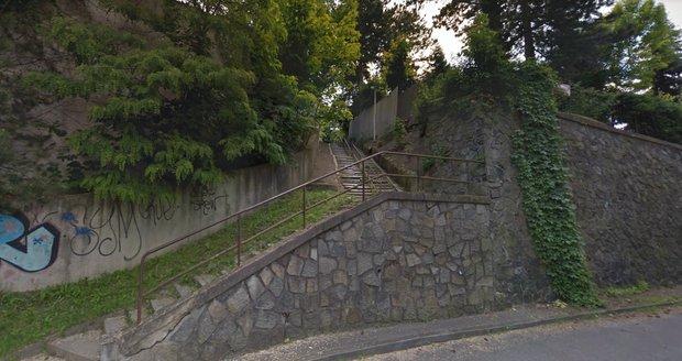 Schodiště v Braníku projde rekonstrukcí.
