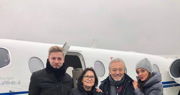 Petr Větrovský, Marta Kubišová, Karel Gott a Dasha