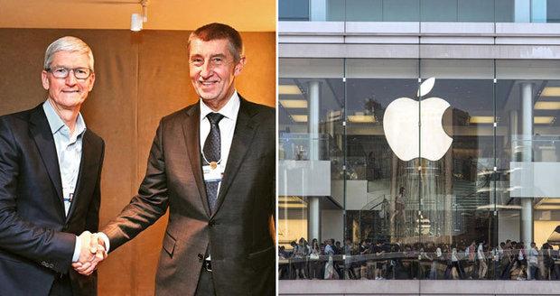 """""""My budovy nerozdáváme, mnozí na jablka nemají."""" ČSSD tepe Babiše za jednání o Applu"""