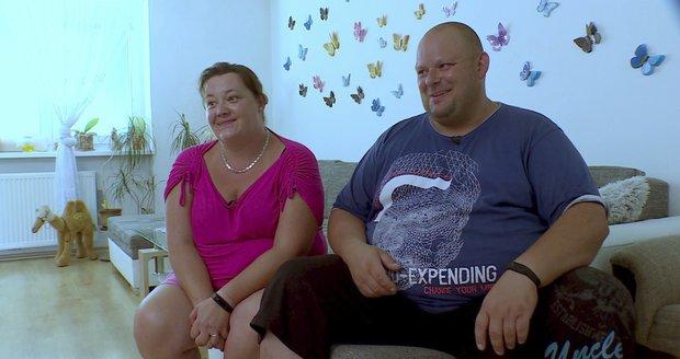 Tomáš s manželkou Janou.