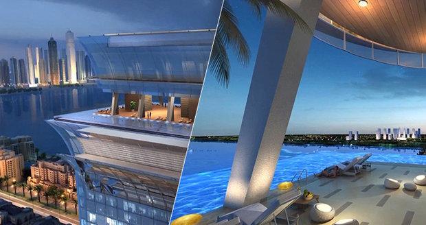 Dubaj chystá další NEJ: V 50. poschodí hodlá vybudovat nekonečný bazén!
