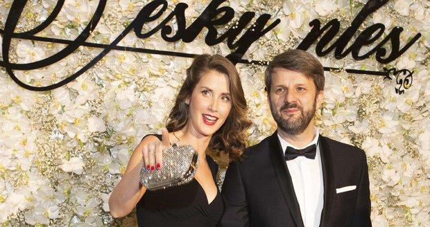 Jana Bernášková s manželem Rudou Merknerem