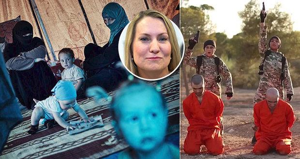"""Češky o dětech vrahů IS a sexuálních otrokyní: """"Rostou noví džihádisté s vymytými mozky"""""""