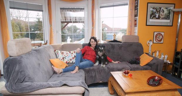 Heidi Janků ukázala svůj dům, kde už rok a půl žije jako vdova po smrti Ivo Pavlíka.