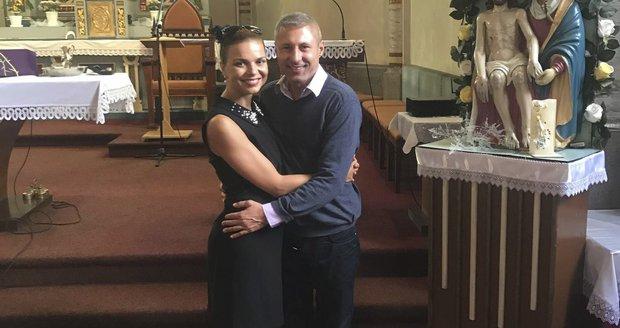 Petra Vajdová s Martinem Hrnčiříkem září štěstím