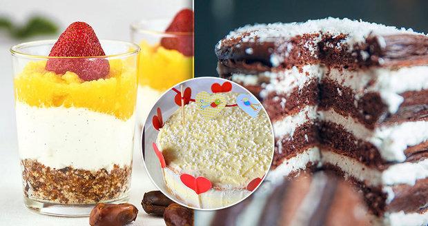 Kokosové lívanečky i dortíky: 3 recepty a jeden tip na zamilovanou valentýnskou snídani