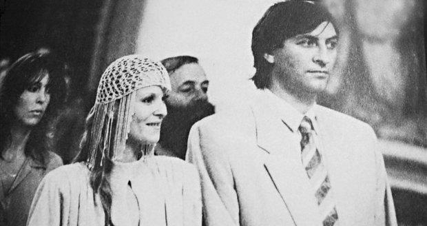 1986 – Svatba Bolka Polívky a Chantal Poullain