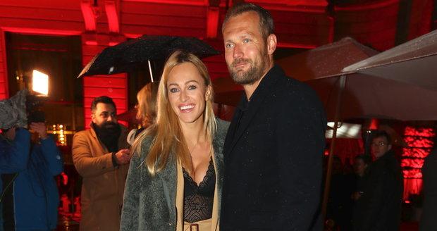 Renata Langmannová s manželem