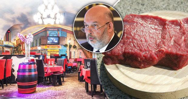 """""""Toman nás poškodil."""" Pražské restaurace zuří kvůli výroku o záměně masa za polské"""