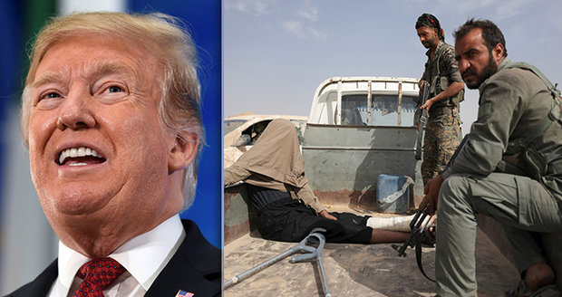 Teroristé z ISIS bojují o poslední baštu v Sýrii. Trump: Do týdne je konec