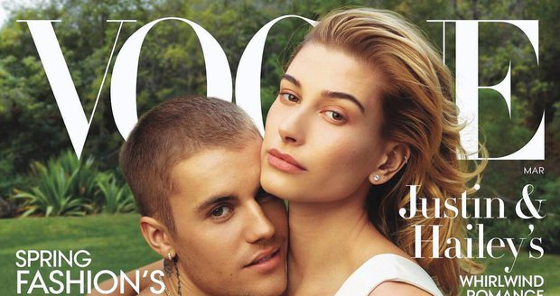 Hailey Baldwin a Justin Bieber ve Vogue