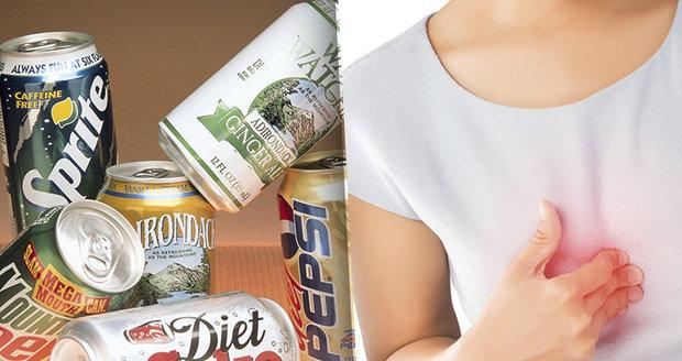 Víc než dvě limonády bez cukru denně? Hrozí infarkt a mrtvice, varují vědci