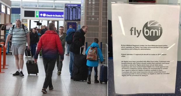 Krach aerolinek uvěznil na letištích stovky lidí. Dotkne se i českých cestujících