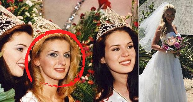 Miss, která porazila Ivu Kubelkovou, se podruhé vdala! Za láskou odešla do Afriky