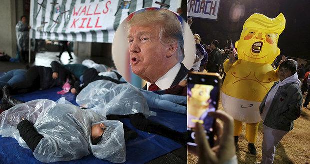 Soud klepl Trumpa přes prsty: Migranty nesmí vracet do nebezpečného Mexika