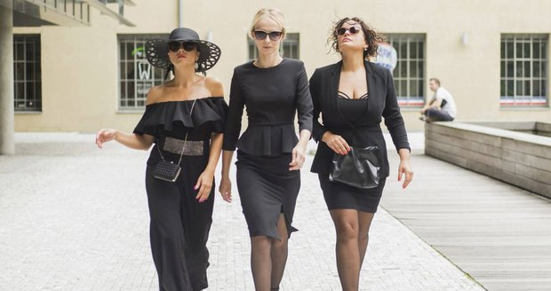 Seriál Černé vdovy