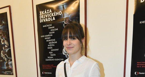 Veronika Khek Kubařová překvapila ofinkou