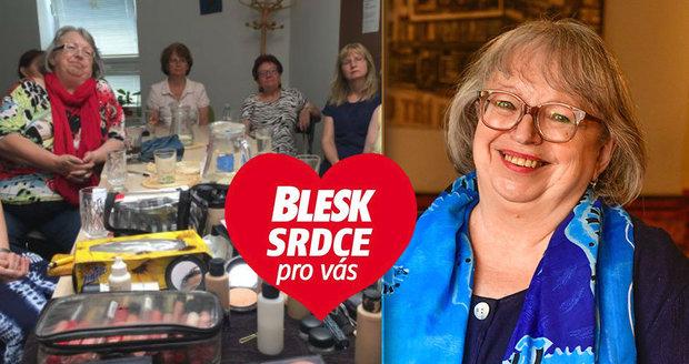 Paní Hanna Žáková (67) se utápěla v depresích: Organizace Právě teď! jí zachránila život!
