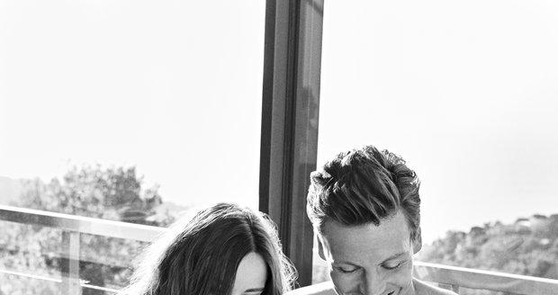 Ester a Tomáš na snídani