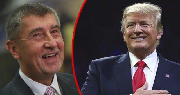 Babiš bude v Bílém domě bohatším pánem, čím ho Trump naopak předčí?